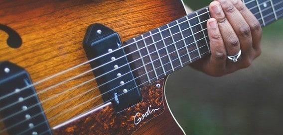 Steel string guitar
