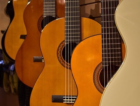 nylon string acoustic guitars