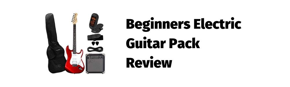 Beginners Electric Guitar Pack Review