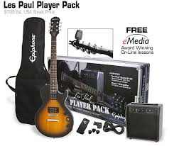 Epiphone Les Paul Players Pack