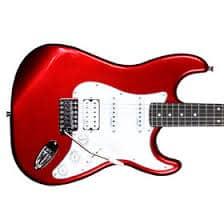 Cherry Red Artist Guitar
