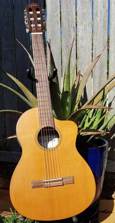 A Cordoba guitar