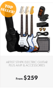 the best beginner guitar packages